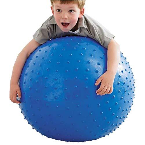 Sebasti Pelota de yoga para mujer embarazada, 75 cm, color azul, se vende