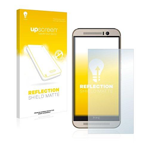 upscreen Entspiegelungs-Schutzfolie kompatibel mit HTC One M9s – Anti-Reflex Bildschirmschutz-Folie Matt
