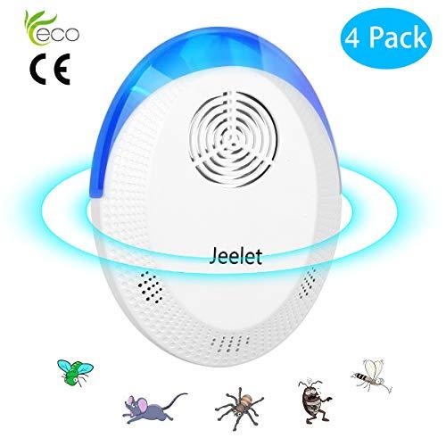 Jeelet Ultrasonic Pest Repeller,...
