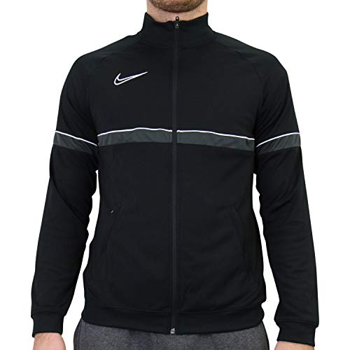 Nike Dri-Fit Academy 21, Giacca Sportiva Uomo, Nero/Bianco/Antracite/Bianco, M