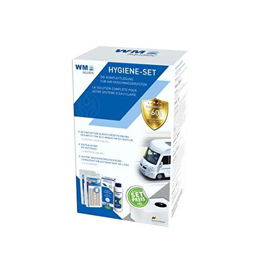 Hygiene-Set Frischwassertank (bis 160 Liter) inkl. 2 x Silberpad zur automatischen Wasserkonservierung