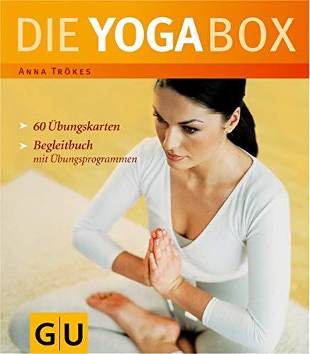 Die Yoga-Box. 60 Übungskarten, Begleitbuch mit Übungsprogrammen