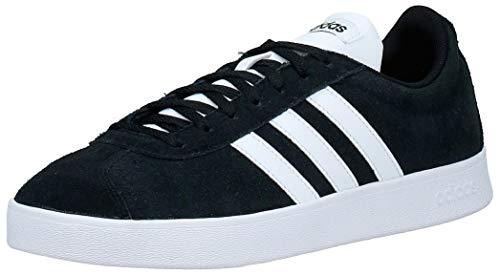 adidas VL Court 2.0', Zapatillas Hombre, Negro (Core Black/FTWR White/FTWR White Core Black/FTWR White/FTWR White), 40 EU