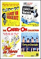The Carry On Collection Volume 1 - Carry On Sergeant / Carry On Teacher / Carry On Nurse / Carry On Constable