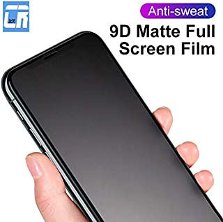 VINTO-Phone Screen Protectors - 9D Matte Frosted Screen Protector for iPhone 11 Pro XS MAX Tempered Glass for iPhone XR 8 ...