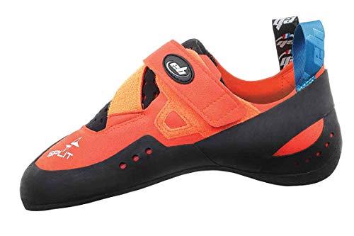 B.e EB Split – Zapatillas de Escalada Individual Medio, Solo pie – Izquierda