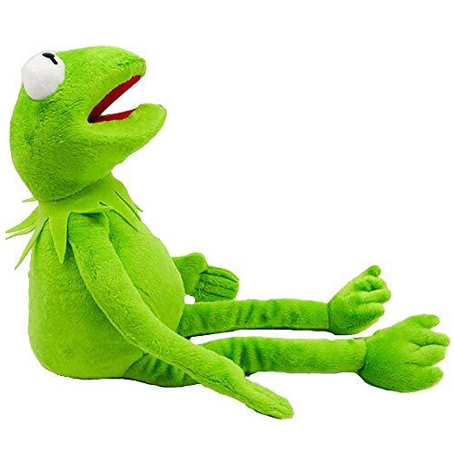 SDYAYFGE 45 cm Cartoon Die Muppets Kermit Frosch Plüschtiere Weichen Jungen Puppe Für Kinder Geburtstagsgeschenk Plüschfigur