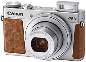 Canon PowerShot G9 X Mark II Digital Camera with Built-in Wi-Fi & Bluetooth (Silver)