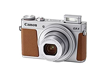 Canon PowerShot G9 X Mark II Compact Digital Camera w/ 1 Inch Sensor and 3inch LCD - Wi-Fi NFC & Bluetooth Enabled  Silver