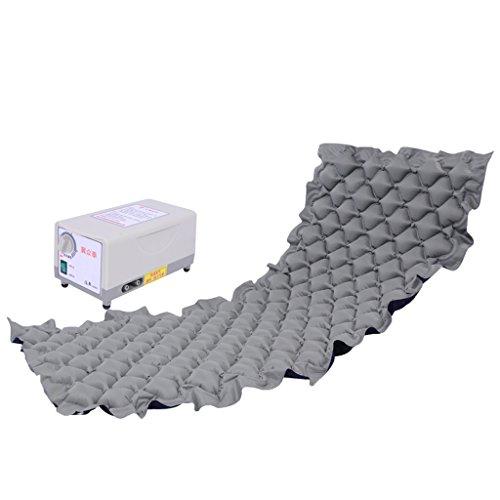 ZXR-Nursing air bed Roscloud@ sferische gat fluctuatie matras- Inclusief dempende elektrische pomp en matras pad (kleur: grijs)