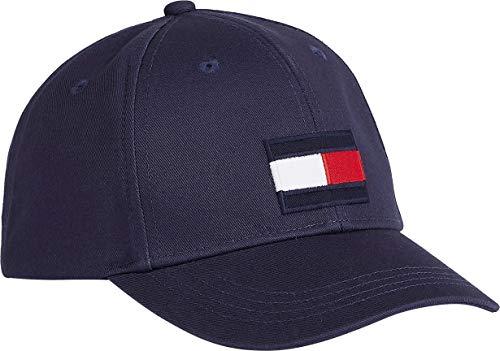 Tommy Hilfiger Unisex-Kinder Big Flag Cap Verschluss, Twilight Navy, Large