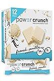 Power Crunch Protein Energy Bar Orignal, French Vanilla Creme, 1.4-Ounce Bar (12 Count)