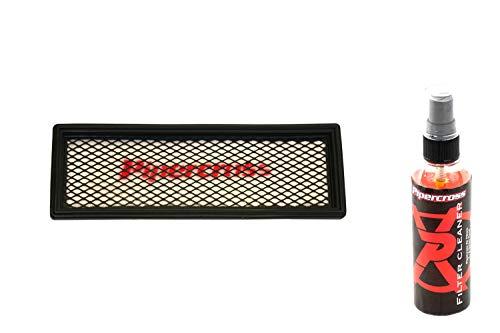 Pipercross Luftfilter+Reiniger kompatibel mit Fiat 500 312 1.2i 69 PS 07/07-