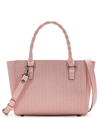 Patricia Nash Twisted Woven Collection Mozia Small Tote Pink