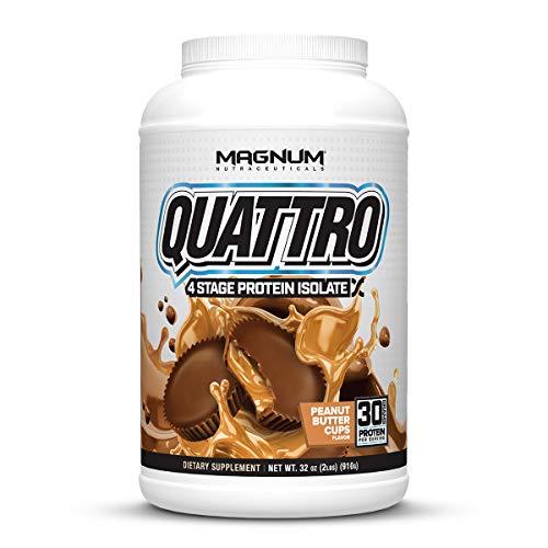 Magnum Nutraceuticals Quattro Protein Powder - 2lbs - Peanut Butter...