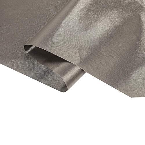 CEXTT 1.1m de Ancho Tejido blindado RFID radiación conductora Tela de protección de Datos protección Anti-electromagnética para microondas y Otros Campos electromagnéticos, 2 m (Size : 2m)