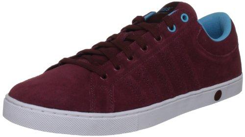 K-Swiss Adcourt '72 SDE 03021-620-M, Herren Sneaker, Rot (Cordovan/Fiji Blue/White), EU 42 (UK 8)