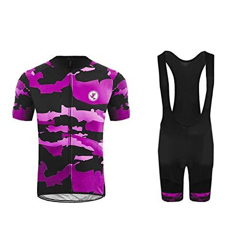 BurningBikewear Uglyfrog Ropa Conjunto Traje Equipacion Ciclismo Mujer Verano con 3D Acolchado...