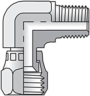 Parker Triple-Lok - Swivel Elbow Connector 37° Swivel / NPTF