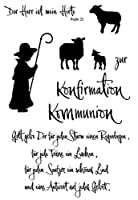 Goatherd Transparent Clear Silicone Stamp Seal DIY Scrapbooking photo Album Decorative Clear Stamp X0074