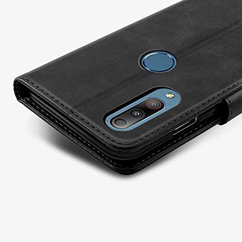 """Capa Capinha Carteira 360 Para Asus Zenfone Max Shot e Max Plus M2 (Zb634kl) Tela de 6.26"""" Polegadas Case Couro Sintético Flip Wallet Para Cartão, Abre E Fecha - Danet (Preto)"""