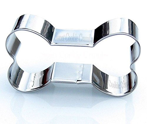 Dog Bone Cookie Cutter - Stainless Steel