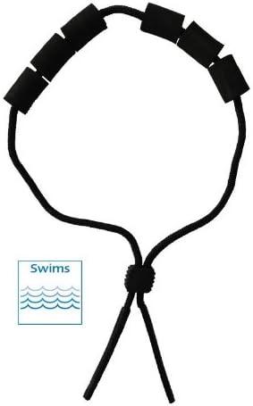 schwimmf/ähiges Brillenband schwarz Brillenkordel Schwimmband