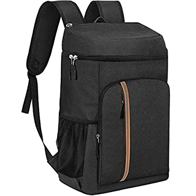 KeShi Cooler Backpack Leakproof Soft Cooler Bag Lightweight Insulated Backpack Cooler 30 Cans Large Capacity for Lunch Picnic Hiking Camping Beach Park Day Trips