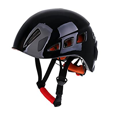 MagiDeal Safety Rock Climbing Caving Rappelling Rescue Helmet Scaffolding Head Protector
