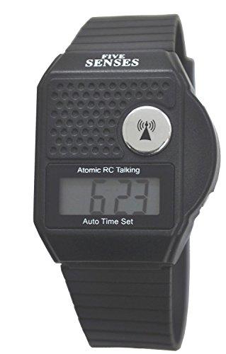 Atomic Parlante Reloj–Parte Superior botón LCD Atomic Reloj Reloj parlante (TC-srtkt-1)