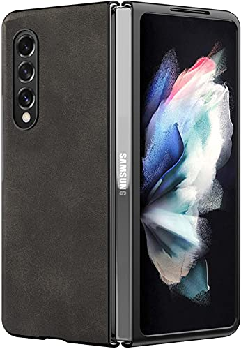 WEYNR Lederhülle Galaxy Z Fold 3 5G Hülle,Samsung Z Fold 3 100%...