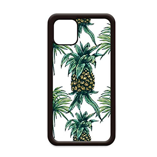 Ananas Plant Fruit Eet Groen voor Apple iPhone 11 Pro Max Cover Apple mobiele telefoonhoesje Shell, for iPhone11
