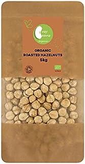Biologisch geroosterde hazelnoten - gecertificeerd biologisch - door drukke bonen biologisch (5kg)