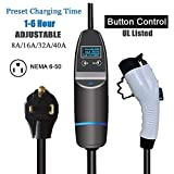 KHONS Level 2 EV Charger Quick 5X Fast Charging (8/16/32/40A)...