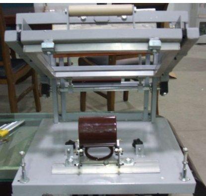 gr-tech Instrument® Écran manuel machine d'impression de cylindre pour bouteille tasse Stylo Surface courbe de presse