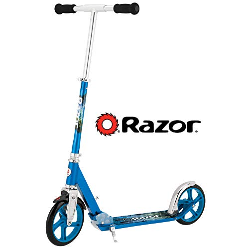 New Razor A5 LUX Kick Scooter - Blue