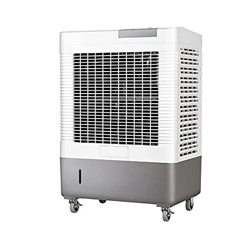 Enfriador de Aire evaporativo, 3 velocidades, Enfriador evaporativo con Tanque de Agua, Potente Unidad de Aire Acondicionado, para Granjas industriales y Otros Espacios de Gran Superficie.