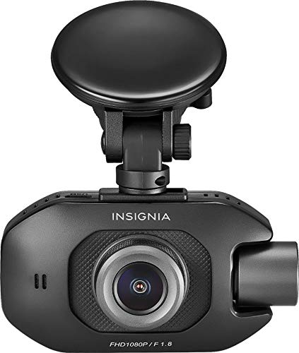 Insignia™ – Front and Rear-Facing Camera Dash Cam