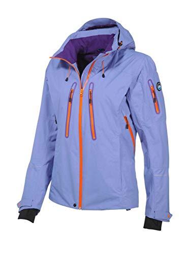 Polarino Damen Marken-Funktionsjacke, flieder-orange, Größe:40