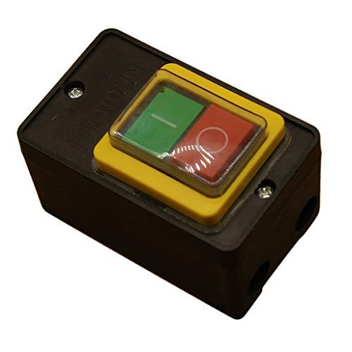 Wippschalter Ein / Aus Taste Schalter für Bohrmaschine, Bankschleifer, Fleischwolf und viele andere Arten von Maschinen