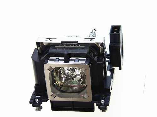 Sanyo PLV-Z4 Projector Lamp Cage Assembly with Original Bulb Inside