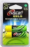Tuscan Ni-CD 1.2V AA 800 mAh Rechargeable Battery