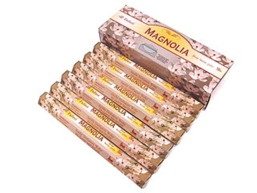 情報生産的加入TULASI(トゥラシ) マグノリア香 スティック MAGNOLIA 6箱セット