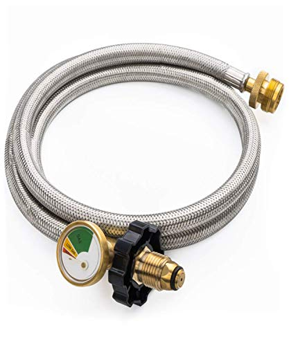 Top gas grill hose adapter for 2020
