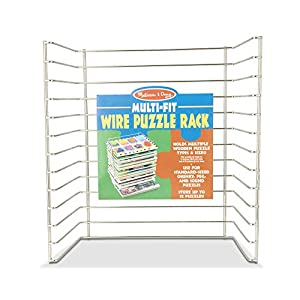 Melissa & Doug Multi-Fit Wire Puzzle Rack from Melissa Doug