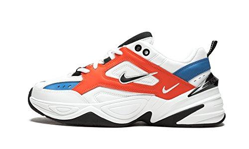 Nike W M2K Tekno, Zapatillas de Running Mujer, Multicolor (Summit White/Black/Team Orange 101), 40.5 EU
