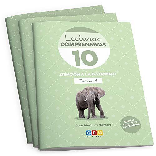 Pack Lecturas Comprensivas/ Editorial Geu/ 3º primaria/ mejora la Comprensión Lectora/ Recomendado Como Apoyo/ Actividades sencillas (Niños de 8 a 9 años)