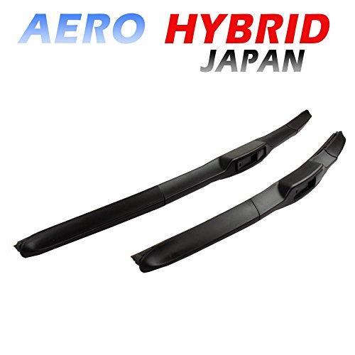 AERO HYBRID JAPAN 600 / 450 Scheibenwischer - BLACK LINE EDITION