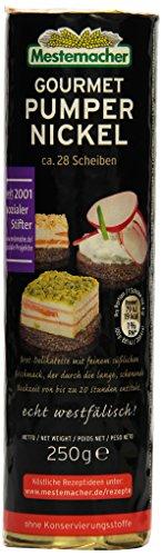 Mestemacher Gourmet Pumpernickel Rolle, 6er Pack (6 x 250 g)