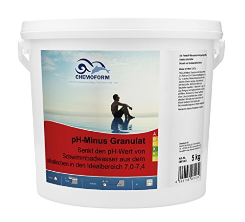 Waterman 0811005C pH Minus Granulat, 5 kg